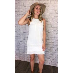 Sanctuary sleeveless dress ~ white ~ Size Medium